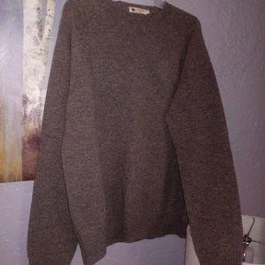 Mens J. Crew Lamb's Wool Sweater/Large